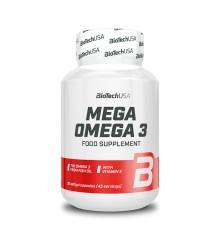 Biotech USA Mega Omega 3 / Omega 3 90 kapszula