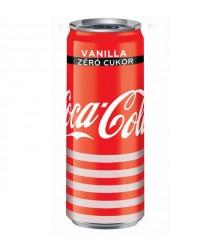 Coca-Cola Zero Vanília 0,33 L