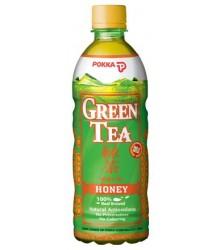 Pokka Japán Mézes zöld tea 0,5l